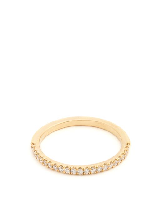 Marc Alary - Metallic Diamond & Yellow-gold Ring - Lyst
