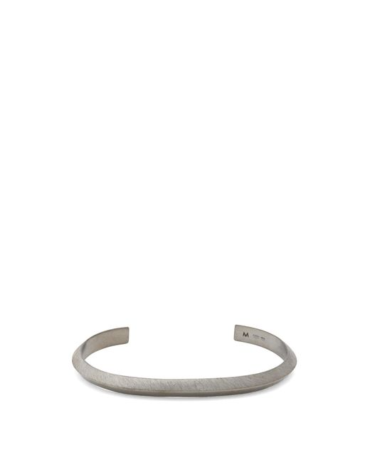 All_blues | Metallic Triangle Ruthenium-plated Cuff for Men | Lyst