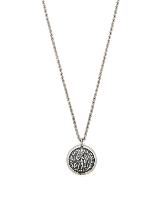 Tom Wood - Multicolor Collier à pendentif pièce de monnaie motif ange for Men - Lyst