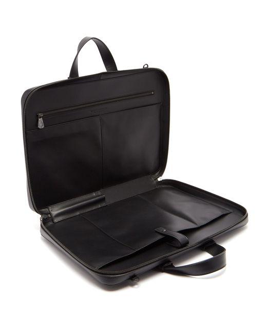 e1b8e7c1b494 ... Bottega Veneta - Black Intrecciato Briefcase for Men - Lyst ...