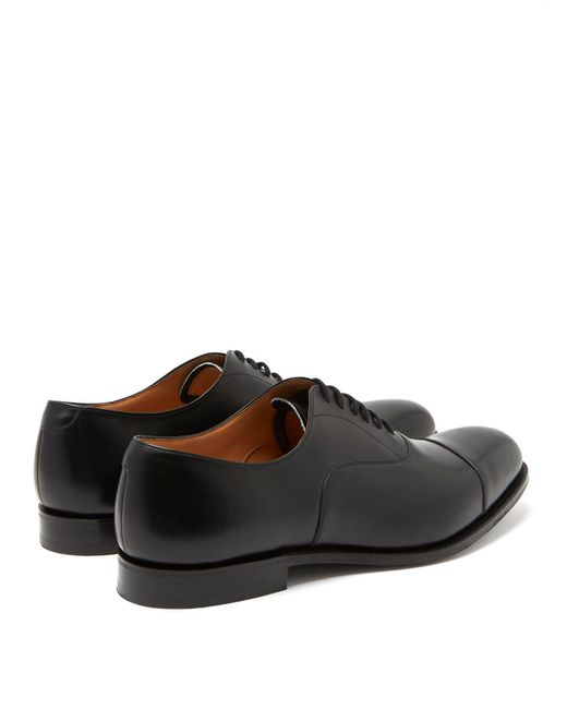 23190d9a27e8 Lyst - Church s Dubai Leather Oxford Shoes in Black for Men - Save 5%