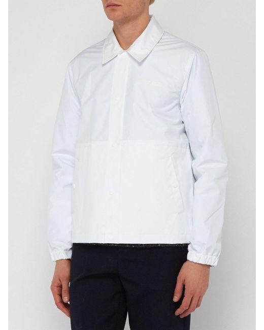 4da502826 ... Helmut Lang - White X Parley For The Oceans Stadium Recycled Jacket for  Men - Lyst ...