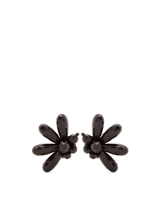 Simone Rocha - Black Clustered-bead Clip-on Earrings - Lyst