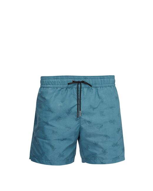 Bottega Veneta - Blue Short de bain à motif papillons en jacquard for Men - Lyst