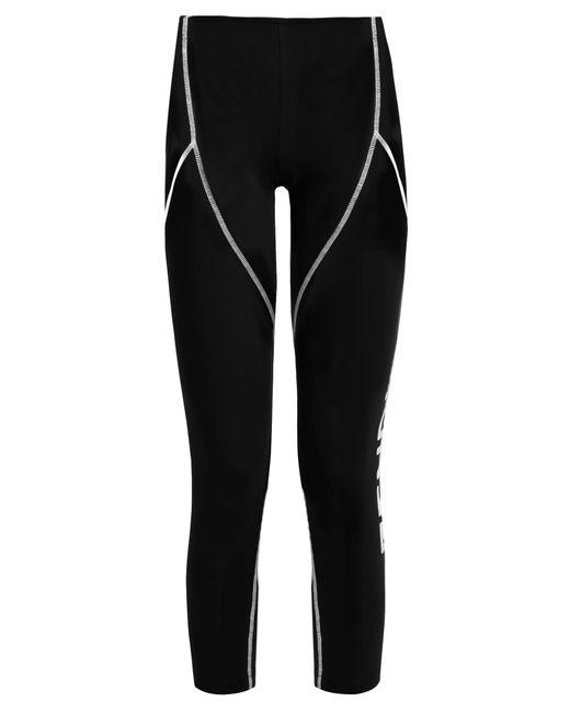 Fendi   Black Side-logo Performance Leggings   Lyst