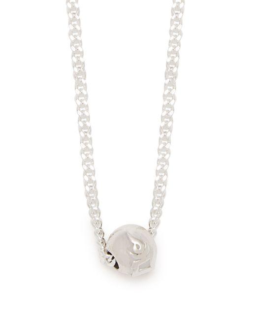 Black Dakini - Gray Collier en argent sterling orné de perles for Men - Lyst