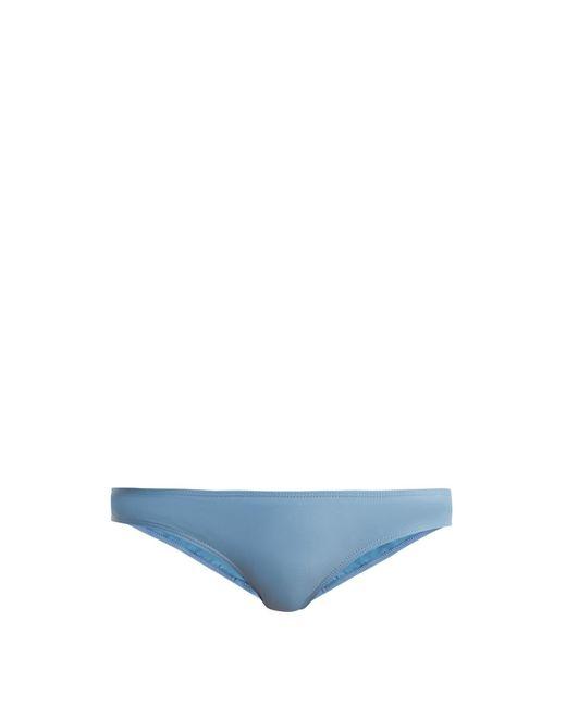 Ephemera Blue Classic Low Rise Bikini Briefs