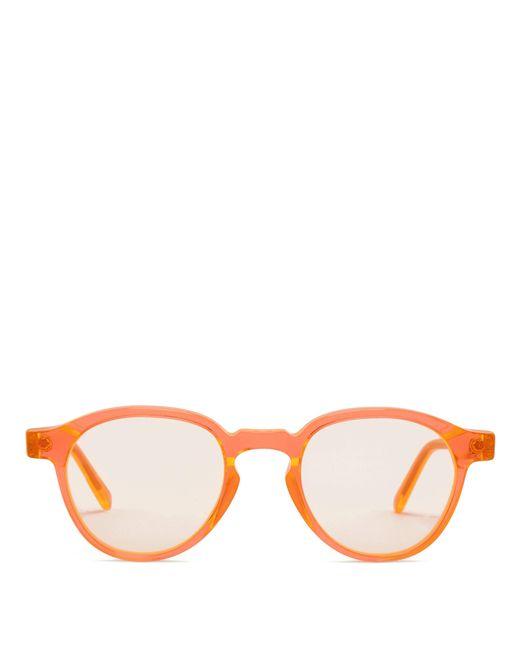 Retrosuperfuture - Orange The Iconic Series Round-frame Sunglasses - Lyst