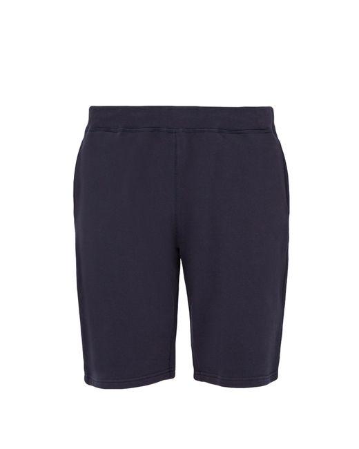 Sunspel - Blue Short taille mi-haute en coton mélangé for Men - Lyst