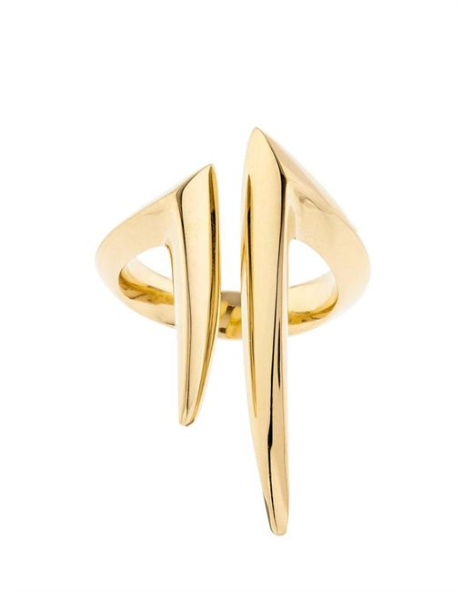 Shaun Leane - Yellow Gold Split Ring - Lyst