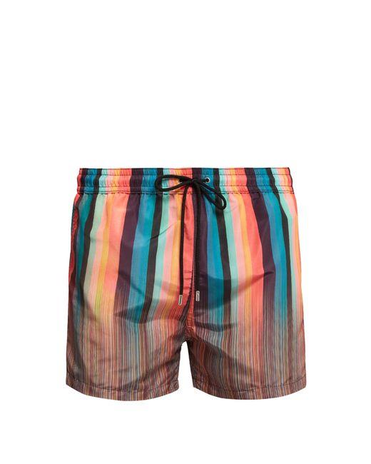 Paul Smith - Multicolor Short de bain à rayures Signature et Artist Stripe for Men - Lyst