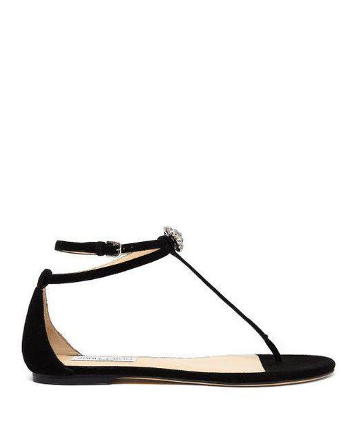 Afia crystal-embellished leather sandals Jimmy Choo London H4hKOm
