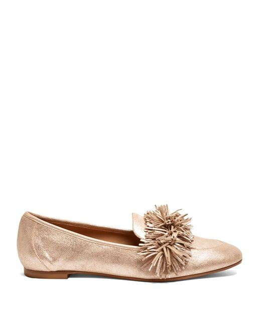 Aquazzura | Multicolor Wild Thing Suede Loafers | Lyst