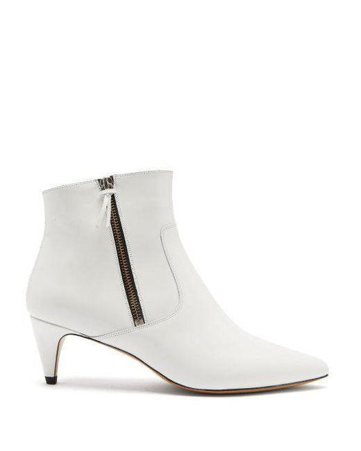 Isabel Marant Deby leather ankle boots h6BhYY
