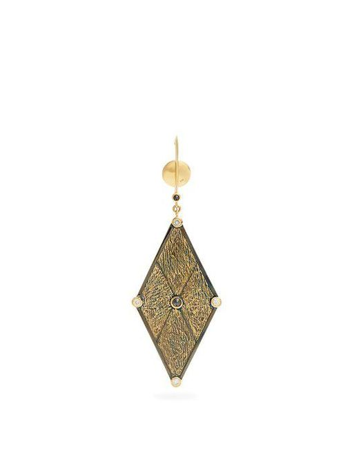 Ara Vartanian X Kate Moss diamond, ruby & gold earring