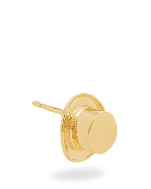 Alison Lou - Multicolor Yellow-gold Top Hat Earring - Lyst
