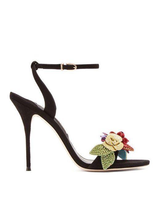 Lilico crystal-embellished suede sandals Sophia Webster ZgGWezAH0
