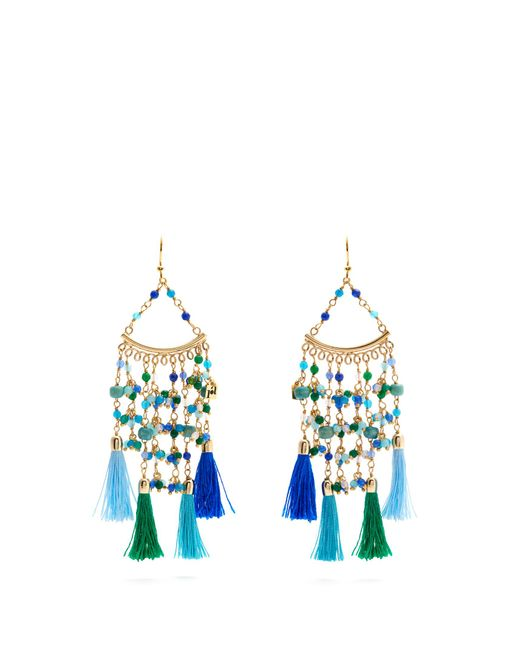 Rosantica By Michela Panero | Blue Kilimangiaro Multi-stone Earrings | Lyst