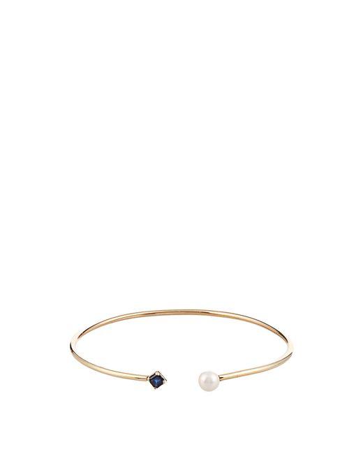 Loren Stewart | Metallic Sapphire, Pearl & Yellow-gold Cuff | Lyst