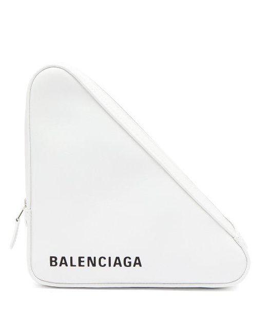Triangle Balenciaga Embrayage Pochette M Choisir Une Meilleure Vente En Ligne 1Bb2EAP75