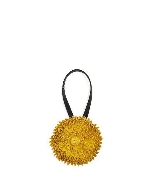 X William Morris Calendula flower bag charm Loewe 3lACuocRfr