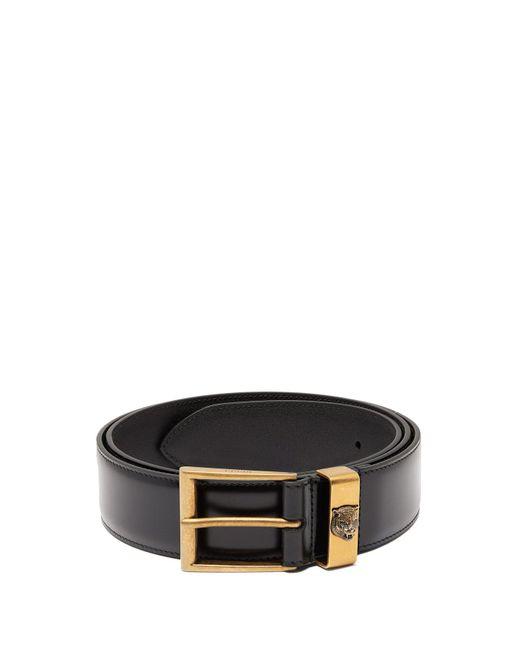 Gucci - Black Tiger Embossed Leather Belt for Men - Lyst