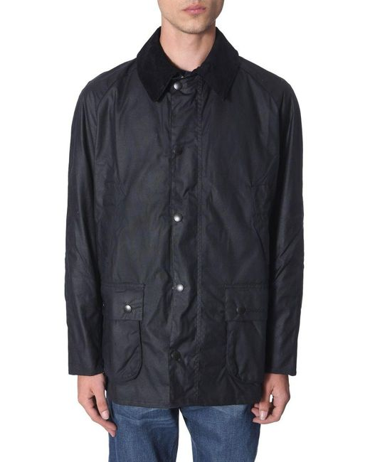 Barbour Blue Cotton Outerwear Jacket for men
