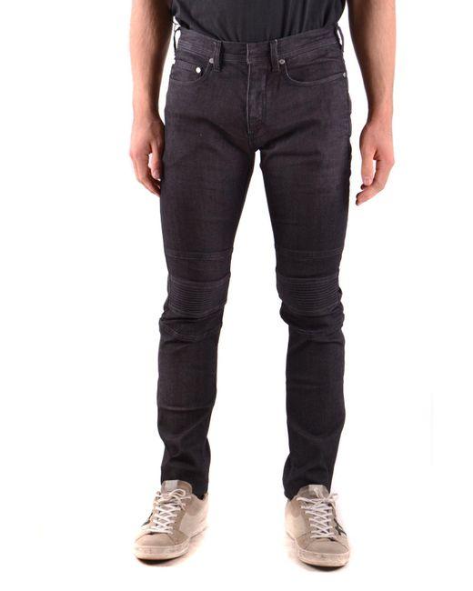 Neil Barrett Black Cotton Jeans for men
