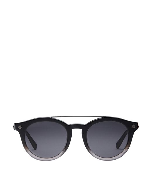MCM - Black Round Aviator Sunglasses - Lyst