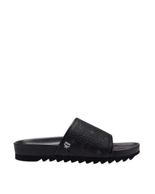 9e2ed8b8a03a Lyst - MCM Slides In Visetos in Black for Men - Save 15%