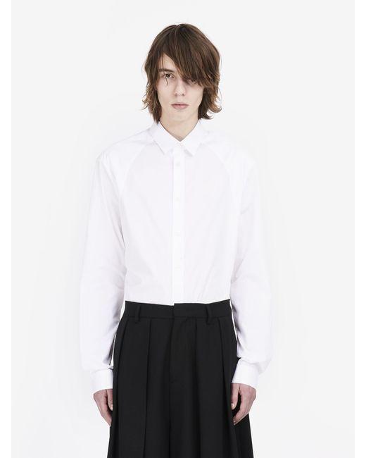 McQ Alexander McQueen | White Harness Shirt | Lyst