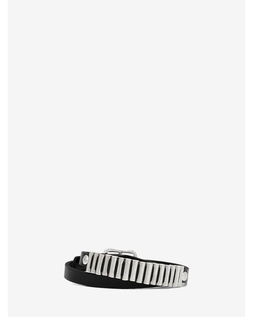 McQ | Metallic Mini Bullets Wrap Bracelet | Lyst