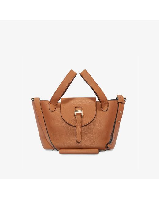 Meli Melo - Brown Thela Mini Cross Body Bag Bag Tan - Lyst