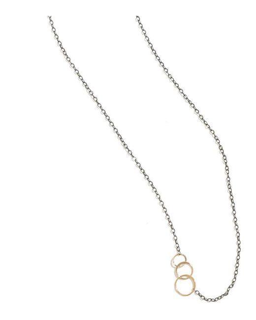 Melissa Joy Manning | Metallic Classic 3 Circle Necklace | Lyst