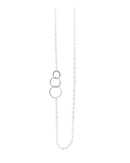 Melissa Joy Manning | Metallic Classic 3 Circle Chain Necklace | Lyst
