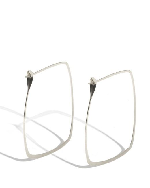 Melissa Joy Manning | Metallic 3 Inch Extra Large Rectangle Hoops | Lyst