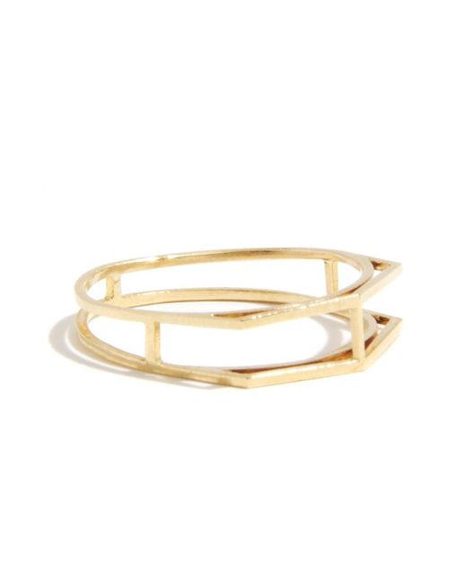 Melissa Joy Manning | Metallic Open Wire Ring | Lyst