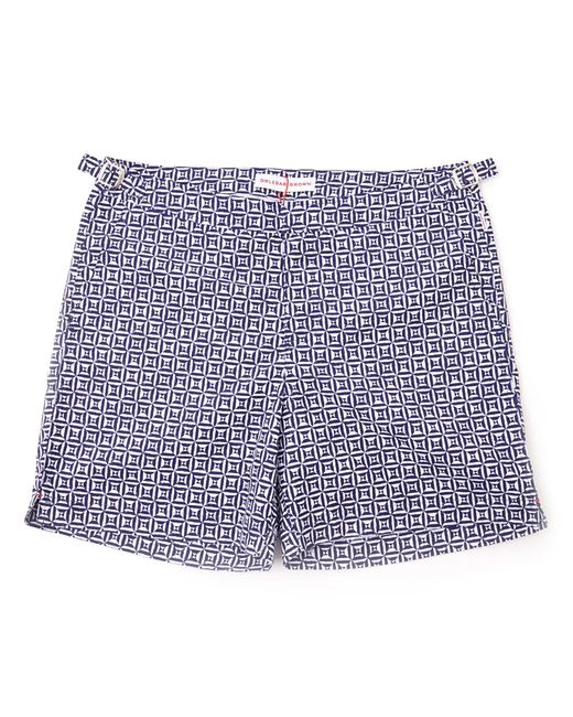 Orlebar Brown | Blue Print Bulldog Swim Shorts for Men | Lyst