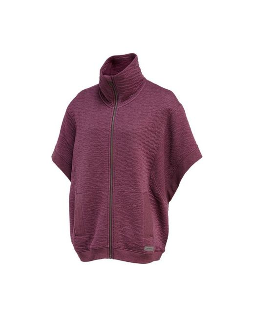 Merrell | Purple Kota Quilted Poncho | Lyst