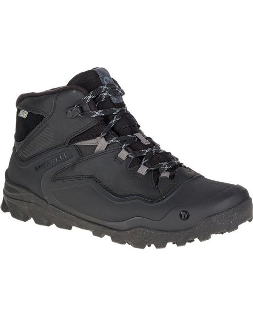 Merrell | Black Overlook 6 Ice+ Waterproof for Men | Lyst