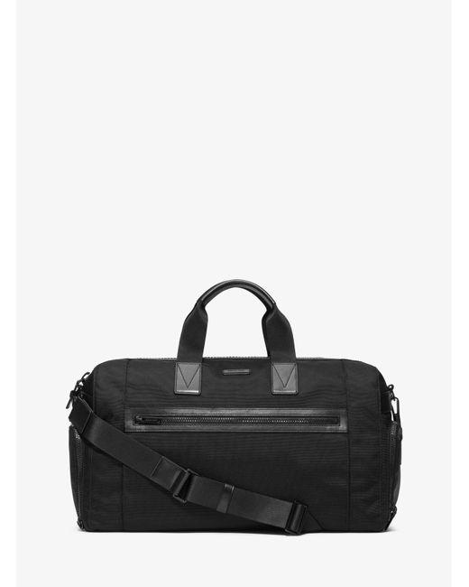 Michael Kors | Black Parker Nylon Gym Bag for Men | Lyst