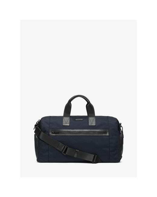Michael Kors | Blue Parker Nylon Gym Bag for Men | Lyst