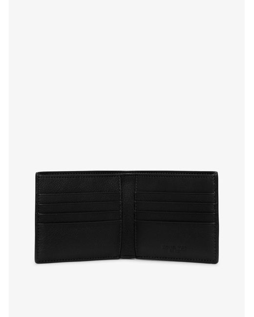 Michael Kors | Black Bryant Leather Billfold Wallet for Men | Lyst