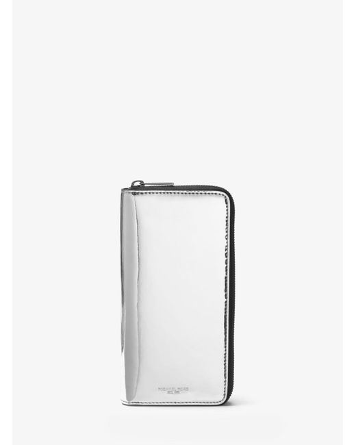 Michael Kors - Harrison Metallic Zip-around Wallet for Men - Lyst