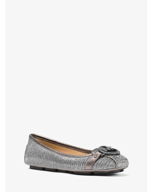 Michael Kors - Multicolor Fulton Chain-mesh Moccasin - Lyst