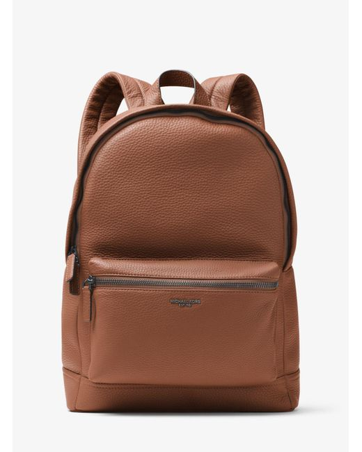 2e0d05a014a6 Michael Kors Bryant Leather Backpack in Green for Men - Save 67% - Lyst