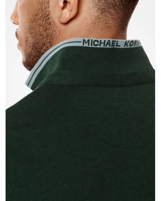 Michael Kors | Greenwich Cotton Polo Shirt for Men | Lyst