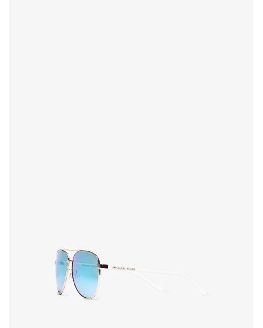 Michael Kors   Pink Hvar Sunglasses   Lyst