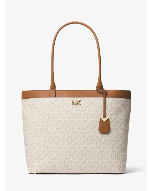 Michael Kors - Multicolor Maddie Large Logo Tote - Lyst