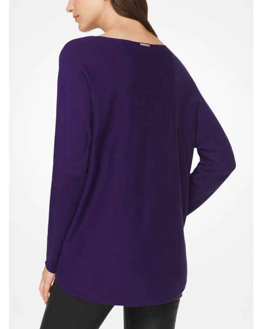 Michael Kors | Purple Cotton-blend Pullover | Lyst